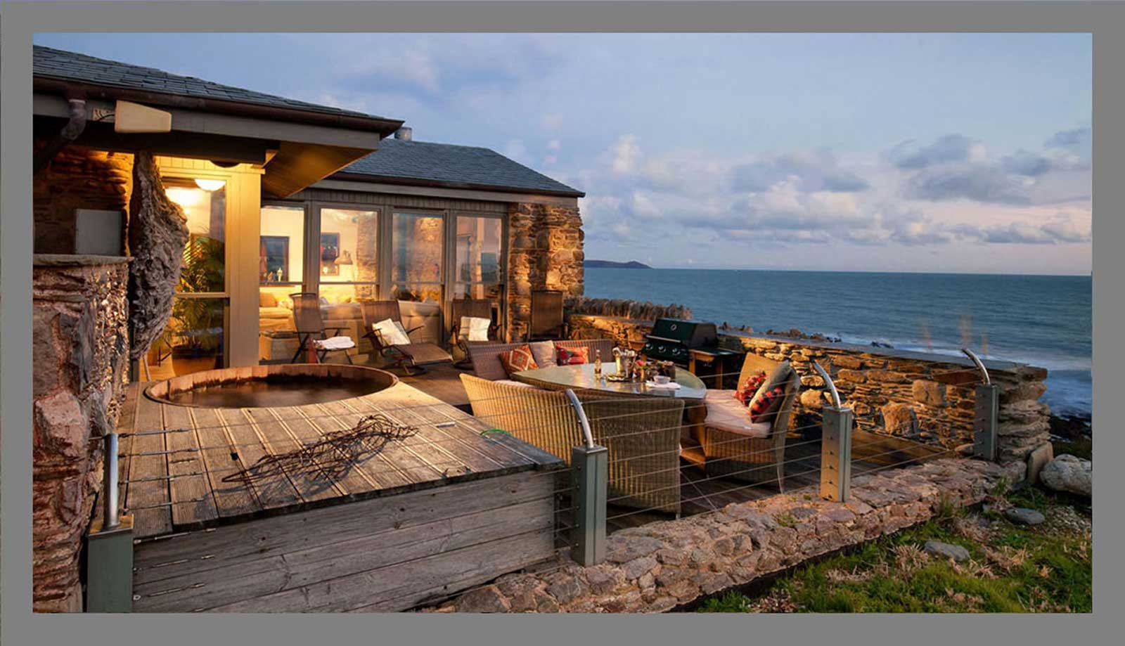Brilliant Luxury Holiday Rentals Cornwall Beach House Cornwall Home Interior And Landscaping Ologienasavecom
